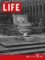 Life Magazine, March 15, 1937 - Coronation Throne