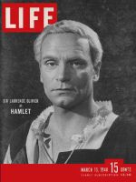 Life Magazine, March 15, 1948 - Laurence Olivier