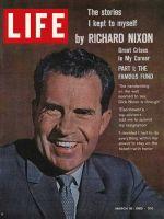 Life Magazine, March 16, 1962 - Richard Nixon