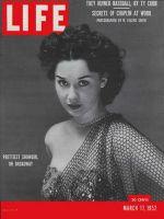 Life Magazine, March 17, 1952 - Prettiest show girl