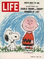 Life Magazine, March 17, 1967 - Charlie Brown and Snoopy