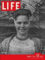 Life Magazine, March 19, 1945 - Dutch woman