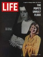 Life Magazine, March 20, 1970 - Former nun