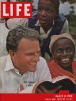 Life Magazine, March 21, 1960 - Billy Graham in Africa