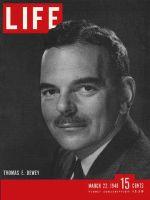 Life Magazine, March 22, 1948 - Governor Dewey