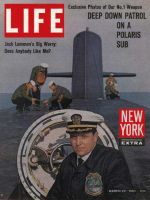 Life Magazine, March 22, 1963 - Polaris Submarine Commander