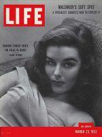 Life Magazine, March 23, 1953 - Elaine Stewart