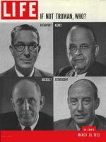 Life Magazine, March 24, 1952 - Democrats' dilemma