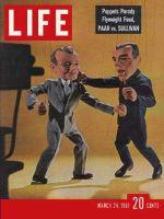 Life Magazine, March 24, 1961 - Jack Parr vs. Ed Sullivan