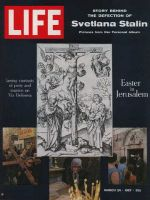 Life Magazine, March 24, 1967 - Composite: Easter in Jerusalem