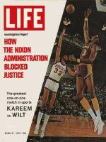 Life Magazine, March 24, 1972 - Wilt Chamberlain and Kareem Abdul-Jabbar, basketball