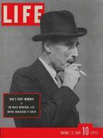 Life Magazine, March 25, 1940 - Sir Neville Henderson