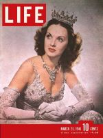 Life Magazine, March 25, 1946 - Lucille Bremer