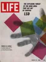 Life Magazine, March 25, 1966 - LSD capsule, drugs