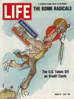 Life Magazine, March 27, 1970 - Credit card craze