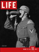 Life Magazine, March 28, 1938 - German bugler