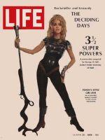 Life Magazine, March 29, 1968 - Jane Fonda as Barbarella