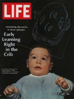 Life Magazine, March 31, 1967 - Infant-learning experiment