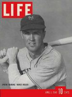 Life Magazine, April 1, 1940 - N.Y. Giant, Rookie Rucker