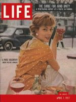 Life Magazine, April 1, 1957 - French woman
