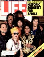 Life Magazine, April 1, 1985 - We Are The World Rock Stars