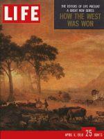 Life Magazine, April 6, 1959 - Explorers of the West