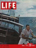 Life Magazine, April 7, 1961 - Ocean fishing