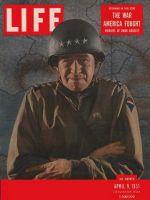 Life Magazine, April 9, 1951 - General Omar Bradley
