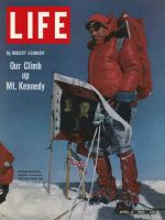 Life Magazine, April 9, 1965 - Robert Kennedy on mountain summit