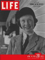 Life Magazine, April 10, 1950 - Young horsewoman