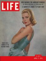 Life Magazine, April 11, 1955 - Grace Kelly