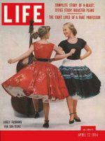 Life Magazine, April 12, 1954 - Subteen styles
