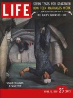 Life Magazine, April 13, 1959 - Space tests