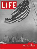 Life Magazine, April 14, 1941 - New York Harbor