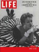 Life Magazine, April 14, 1952 - Italian fashions