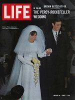 Life Magazine, April 14, 1967 - Sharon Percy weds John D. Rockefeller IV