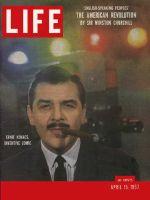 Life Magazine, April 15, 1957 - Ernie Kovacs