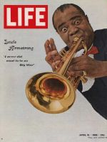 Life Magazine, April 15, 1966 - Louis Armstrong