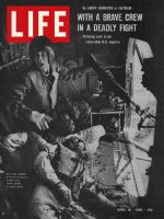 Life Magazine, April 16, 1965 - U.S. helicopter crew, Yankee Papa
