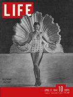 Life Magazine, April 17, 1944 - Esther Williams