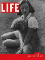 Life Magazine, April 18, 1938 - Paulette Goddard