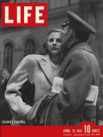 Life Magazine, April 19, 1943 - Farewells