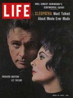 Life Magazine, April 19, 1963 - Richard Burton and Elizabeth Taylor