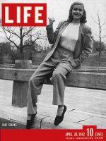 Life Magazine, April 20, 1942 - Slacks in style