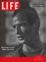Life Magazine, April 20, 1953 - Marlon Brando