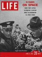 Life Magazine, April 21, 1961 - Yuri Gagarin and Nikita Krushchev