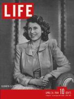 Life Magazine, April 24, 1944 - Princess Elizabeth