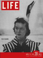 Life Magazine, April 25, 1949 - Paris styles