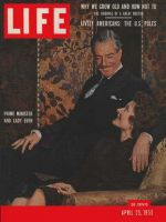 Life Magazine, April 25, 1955 - Prime Minister and Lady Eden