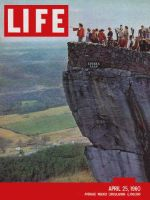 Life Magazine, April 25, 1960 - Southeast in spring, lovers leap